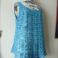 Lacy Crochet Top - MADE TO ORDER