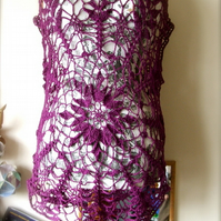 Doily Crochet Top - MADE TO ORDER