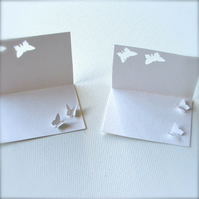 Thank You Note cards - set of two with recycled envelopes