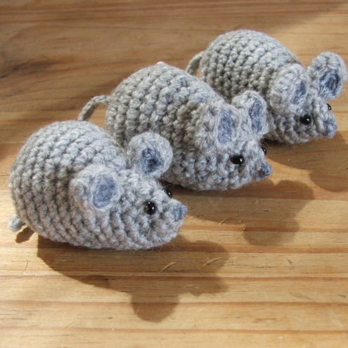 Little Crochet Mouse