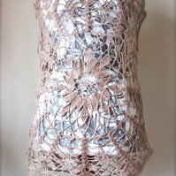 MADE TO ORDER - Doily Crochet Top