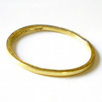Mini 18K yellow gold stacking ring - stackable gold rings, gift for her