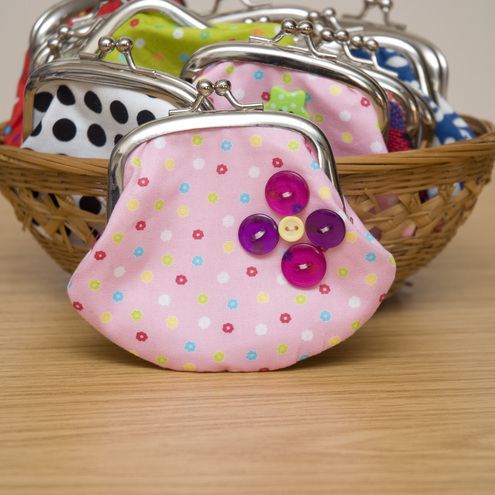 """ Jelly Sweets"" Cute little Coin Purse by moody cow designs"