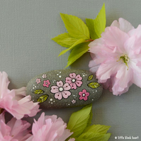 cherry blossom - pebble art