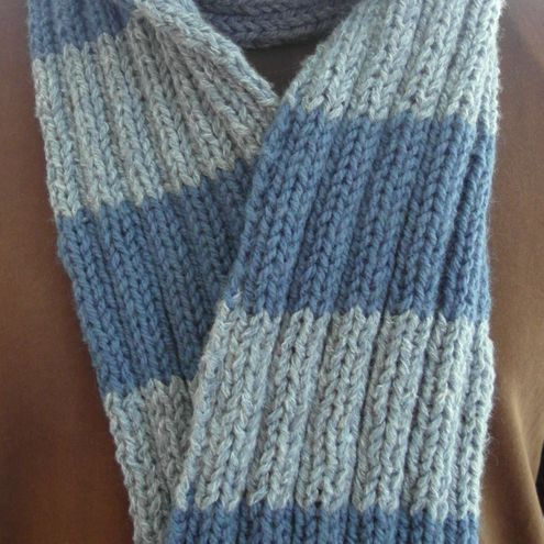 Scarf, blues