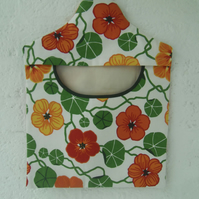 Peg bag in Ikea fabric for clothes pins