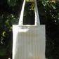 Tote bag in strong cotton fabric with pretty lining