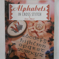 Alphabets in Cross Stitch  book by Jane Alford