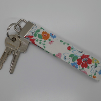 CLEARANCE ITEM Key ring wrist strap Cath Kidston fabric