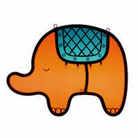 Stained Glass Elephant (IN STOCK)