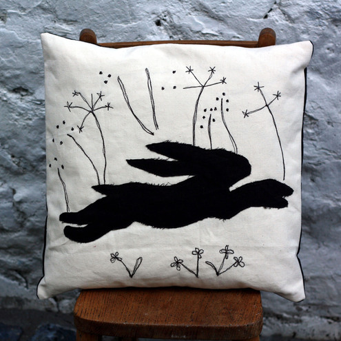 The Hare Cushion