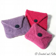 Felt Coin Purse Pattern knitting pdf