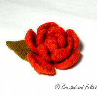 Felted Rose Pattern PDF
