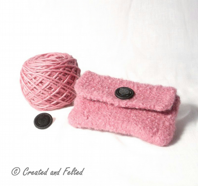 Learn to Knit, Felt Purse Kit