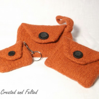 Felt Purse Set knitting Pattern