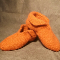 Felt Slipper Pattern Knitting
