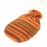 Felt hot water bottle cover pattern