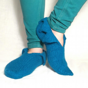 Felt Pixie Slipper Pattern Knitting