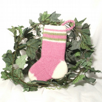 Baby's First Felt Christmas stocking pattern