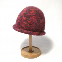 Quick knitted Felt Beanie Hat Pattern