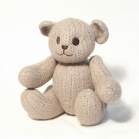 Felt Teddy Bear Knitting Pattern