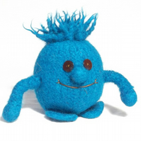 Little Monster toy knitting pattern