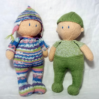 Jo-Jo Dolls Knitting Pattern