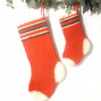 Felt Christmas stocking pattern