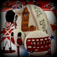 with love from London brooch