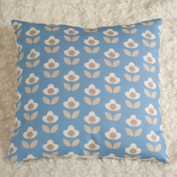 Tulip cushion cover Blue