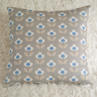 Tulip cushion cover Grey