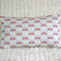 Mini Elderberry bolster cushion cover Pale Blue