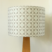Roundel drum lampshade