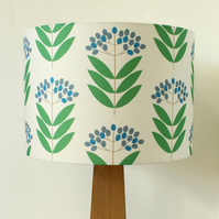 Elderberry Drum Lampshade