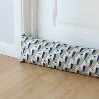 Owl Fabric Draught Excluder