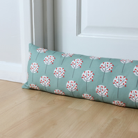 Moonlight Tree pattern print Fabric Draught Excluder