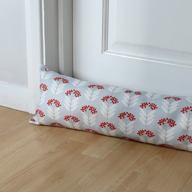 Mini Elderberry Fabric Draught Excluder