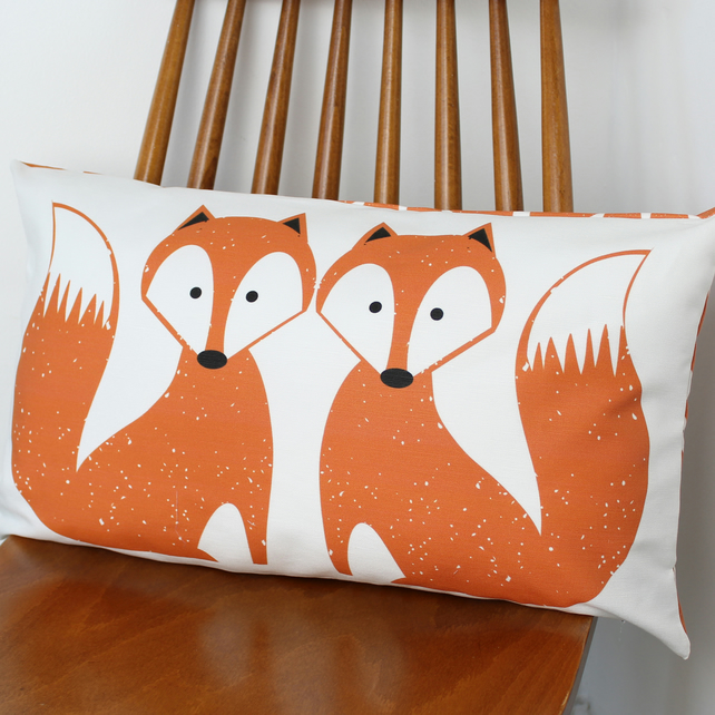 Foxy Fox Cushion