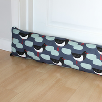Oystercatcher Bird Fabric Draught Excluder