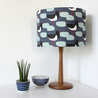 Oystercatcher Bird Fabric Lampshade