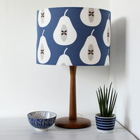 Pear Fabric Lampshade
