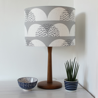 Cumulus Cloud Fabric Lampshade