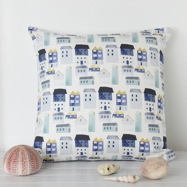 Harbour Houses Fabric Cushion