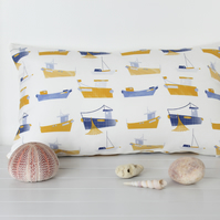 Harbour Boats Fabric Cushion