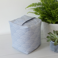 Harbour Waves Blue Fabric Doorstop