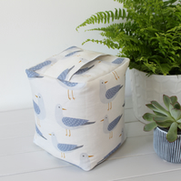 Harbour Gulls Fabric Doorstop