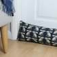 Black Rabbit Fabric Draught Excluder