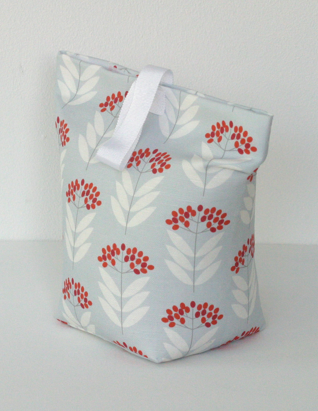 Mini Elderberry Fabric Door Stop