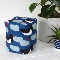 Blue Oystercatcher Fabric Doorstop