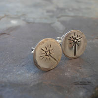 Wish Sterling Silver Stud Earrings